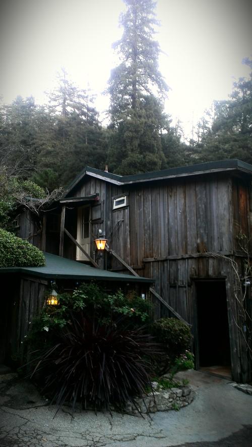 My cabin at Deetjen's.